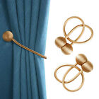 Magnetic Window Curtain Tie backs Strong Ball Buckle Rope Holdbacks Home Decor