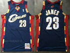 Men Cleveland Cavaliers #23 LeBron James Basketball jersey embroidery navy blue on eBay