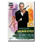 From Russia with Love 20x30 24x36inch 007 James Bond Movie Silk Poster $5.99 USD on eBay