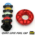 RED FCR 1/4 Quick Lock Gas Fuel Cap For Triumph Daytona T595 97 98 99 00 01 $55.8 USD on eBay