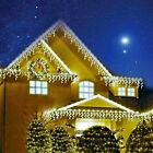 CHRISTMAS LED ICICLE SNOWING EFFECT LIGHTS XMAS INDOOR OUTDOOR CHASER LED LIGHTS