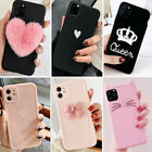 F iPhone 11 Pro Max XS Max XR 8 Plus Shockproof Slim Case Cute Girls Phone Cover