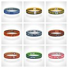 Reversible NFL Teams Bracelet Elastic Stretch Bracelet NFL Wristband $11.0 USD on eBay