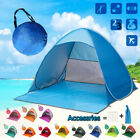 pop up beach tent canopy uv50 camping fishing mesh sun shade shelter 2 3p
