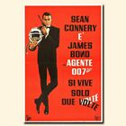 You Only Live Twice 12x18/24x36inch 007 James Bond Sean Connery Silk Poster $13.2 CAD on eBay