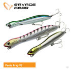 Savage Gear Saltwater Panic Prey V2 Surface Lures - Bass Pike GT Sea Fishing