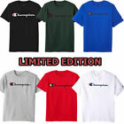 Authentic Champion Men's Jersey Script Logo Short Sleeves T-Shirt  image