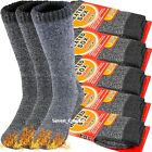 3 Pair Mens Winter Heavy Duty Heated Thermal Warm Socks Insulated Boot Sox 10 13