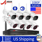 1080P 2 Way Audio Home Security Camera System Outdoor Wireless 8CH NVR HDD CCTV
