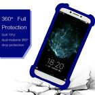 """Stretchy Silicone Soft Phone Bumper Case Cover For BLU C5 (5"""")"""