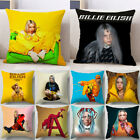 Home Decor Billie Eilish Pillowcase Sofa Car Colorful Pillow Case Cushion Cover image