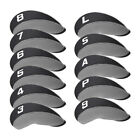 11pcs Golf Iron Headcovers Covers Multi Colors with Number# For Titleist Cobra