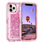 For iPhone 11 / Pro / Max Glitter Liquid Quicksand Shockproof Bling Case Cover