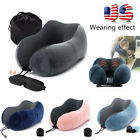 Kyпить Memory Foam Travel Pillow Car Sleep U Shaped Head Rest Neck Support Soft Cushion на еВаy.соm