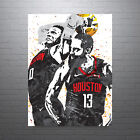 Russell Westbrook and James Harden Houston Rockets Poster FREE US SHIPPING on eBay
