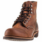Red Wing Iron Ranger Mens Copper Leather Casual Boots