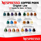 Nespresso Coffee ORIGINAL LINE 10 Capsules Pods Espresso Decaf ALL FLAVORS