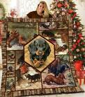 Dachshund Collection Version 3 Fleece Blanket 50x60; 60x80 Made In US image