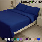 Bed Sheet Set 1800 Count Deep Pocket Cozy Hotel Bedding Cover 6 Piece Full Size image