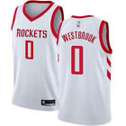 NWT Houston Rockets #0 Russell Westbrook Youth white Jersey on eBay