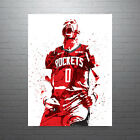 Russell Westbrook Houston Rockets Poster FREE US SHIPPING on eBay