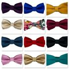 Fouger Kids Boys Teens Bow Tie Assorted Colors Solid and Floral
