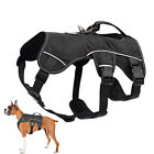 Reflective Working Dog Vest Harness No Pull Adjustable Medium Large Breeds Boxer