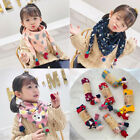 New Kids Baby Cartoon Scarve Keep Warm Autumn Winter Triangle Saliva Towel Scarf