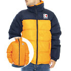Karl Kani Retro Reversible Blätterteig Jacke - Orange / Marineblau - Winter