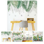 Green Leaves Wall Sticker Home Decoration For Bedroom/living Room Diy Removable