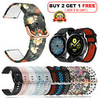 Samsung Galaxy Watch Active 2 S2 40/42/44mm Silicone Sport Band Bracelet Strap image
