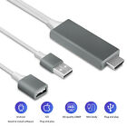 1080P HDMI Mirroring Cable Phone to TV HDTV Adapter For iPhone/iPad/Android/Tab