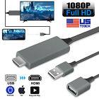 Kyпить 1080P HDMI Mirroring Cable Phone to TV HDTV Adapter For iPhone/iPad/Android/Tab на еВаy.соm