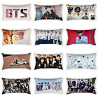 Home Decor Korean BTS Bangtan Boys Pillow Case Sofa Pillowcase Cushion Cover image