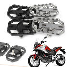 2x CNC WIDE Footpeg Foot Rest For HONDA NC750X/S 2012-2014 & NC700X/S 2014-2018 image