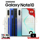 NEW Samsung Galaxy NOTE 10 256GB Black Glow White SM-N970U1, Factory Unlocked