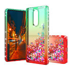 For Coolpad Legacy/Alchemy Shockproof Liquid Glitter Bling Clear Slim Case Cover