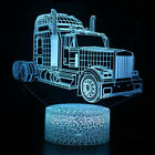 Car Series 3D LED Night Light 7/16 Color LED Table Desk Lamp Room Kids Xmas Gift