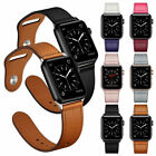 Genuine Leather Band Strap for iWatch Apple Watch Series 5 4 3 2 40/44mm 38/42mm image