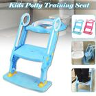 198lbs Kids Potty Training Child Toddler Toilet Seat Ladder Chair w/ Step Stool  image