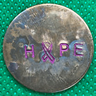 Hope Hand-Stamped Custom Copper Golf Ball Marker