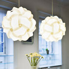 Cover Lamp Lampshade Lamp Pendant Jigsaw Light Puzzle Ceiling Chandelier Home