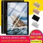 Android 8.0 10 Core Tablet 10.1in WiFi 6G RAM 128G ROM Game Pad 1080P Dual SIM