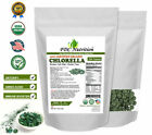 Organic Chlorella Tablets Broken Cell 3000mg Per Serving, 250 Tablets Each
