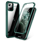 360 Clear Case For iPhone 11 XR XS Max Shockproof Screen Protector Phone Cover