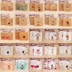 5x5cm Solid Paper Jewelry Necklace Holder Card Pendant Display Card Pack of 100