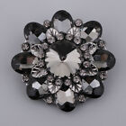 1 Piece Sparkly Alloy Rhinestone Shank Button for Clothes Weding Dress Decor