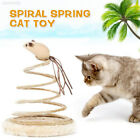 83AD Small Fish Spring Cat Toy Funny Cat Toy Bottom Sucker Knickknack Sturdy