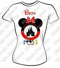 DISNEY TRIP IRON ON T SHIRT TRANSFER LOTS OF DESIGNS SOME PERSONALISED 2020