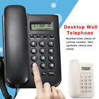 Quality Wall Mounted Corded Home Office Landline Table Phone Caller ID Desktop
